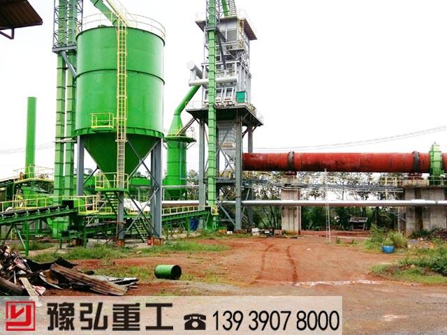 泰国陶粒砂生产线客户现场